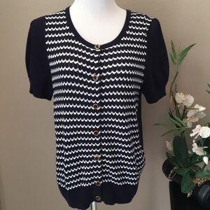 NWT Sweater Short Sleeve